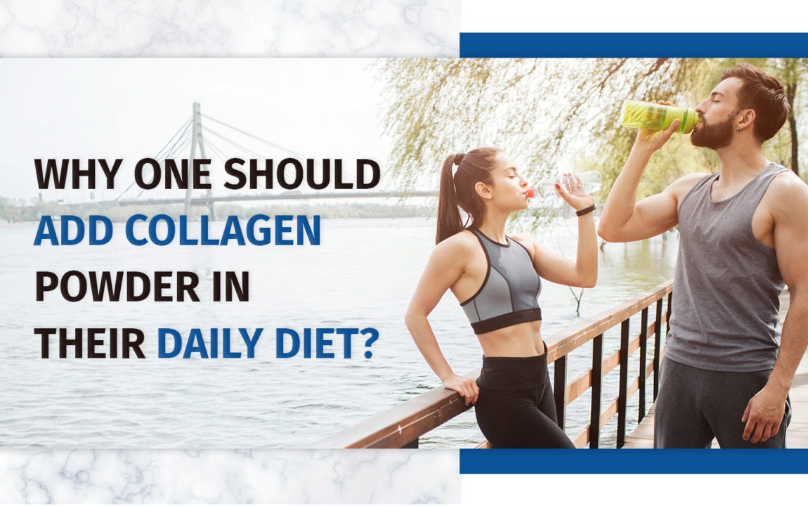 Collagen powder in daily diet